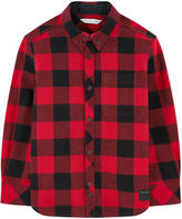 Little Marc Jacobs Checked poplin shirt