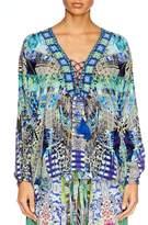 Camilla Globetrotter Lace Up Shirt