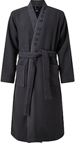 HUGO BOSS BOSS Waffle Kimono Robe, Navy