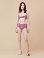 Diane von Furstenberg High Waisted Bikini Bottom