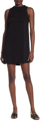 Michael Stars Mock Neck Racerback Dress