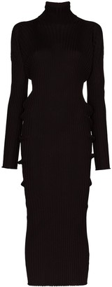 Bottega Veneta Merino Wool Rollneck Dress