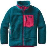 Patagonia Girl's 'Retro-X' Windproof Fleece Jacket