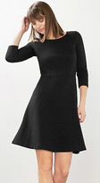 Esprit Textured flared dress