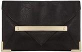 Dorothy Perkins Bar front envelope clutch