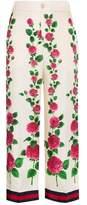 Gucci Women's White Silk Pants.