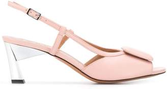 Marni slingback sculpted heel sandals