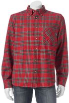 Woolrich Men's Classic-Fit Plaid Flannel Button-Down Shirt