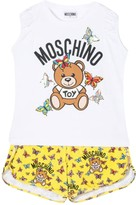 Moschino Kids Teddy Bear Pajamas Set