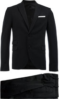 Neil Barrett formal suit - men - Cotton/Polyamide/Polyester/Viscose - 46