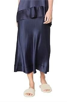 Lee Mathews Stella Silk Satin Skirt