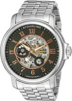 Stuhrling Original Men's 'Legacy' Automatic Stainless Steel Dress Watch, Color:Silver-Toned (Model: 344.331154)