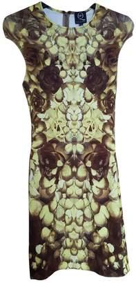 Alexander McQueen Yellow Viscose Dresses