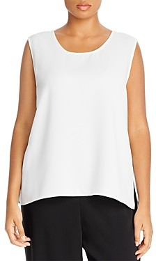 Caroline Rose Plus Scoop Neck Tank