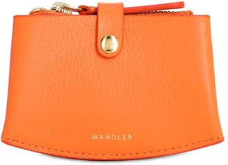Wandler Corsa Grained Leather Card Case