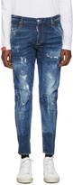 DSQUARED2 Blue Tidy Biker Jeans