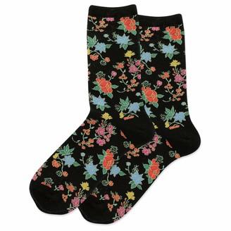 Hot Sox HotSox Asian Floral Socks