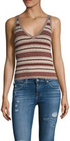 Free People Ditsy Striped Sleeveless Top
