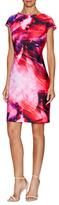 Julia Jordan Floral Paint Shift Dress