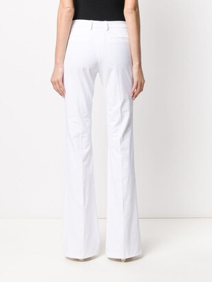 Pt01 Mid Rise Flared Trousers