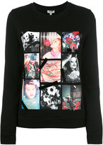 Kenzo photo print sweatshirt - women - Cotton - S