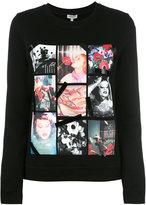 Kenzo photo print sweatshirt