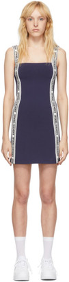 Opening Ceremony Navy Logo Mini Dress