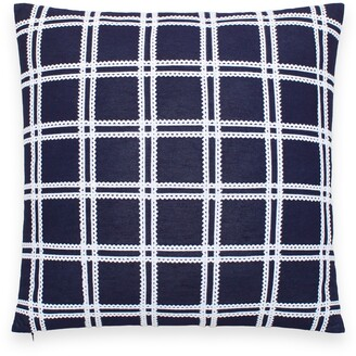 Kate Spade Rickrack Grid Accent Pillow