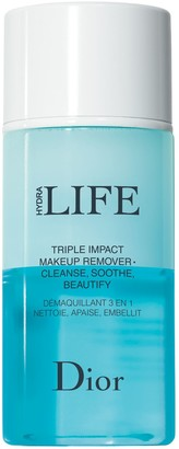 Christian Dior Hydra Life Triple Action Makeup Remover - Cleanse, Soothe, Beautify, 125ml