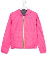 K Way Kids - reversible wind breaker jacket - kids - Polyamide/Polyester - 14 yrs