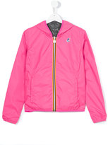 K Way Kids reversible wind breaker jacket