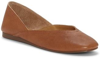 Lucky Brand Alba Leather Skimmer Flat