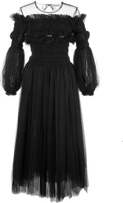 Molly Goddard tulle evening dress