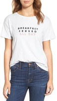Madewell Anya Breakfast Served All Day Tee
