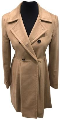 Miu Miu Beige Viscose Coats