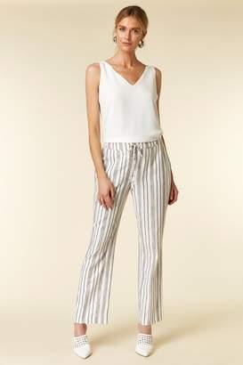 Wallis Monochrome Stripe Tie Trouser