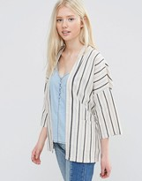 Vila Winther Stripe Cover Up