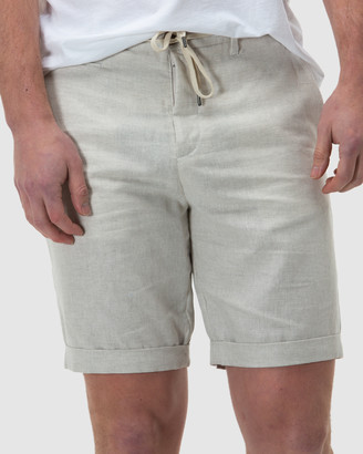 Brooksfield Linen Blend Shorts