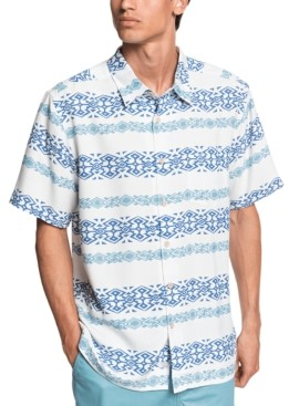 Quiksilver Men's Tapa Mood Short Sleeve Shirt