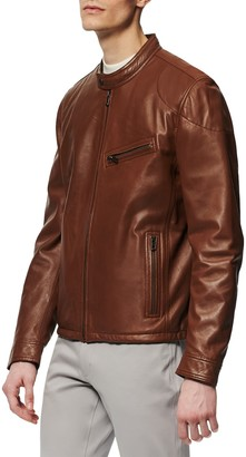 Andrew Marc Dewey Leather Jacket