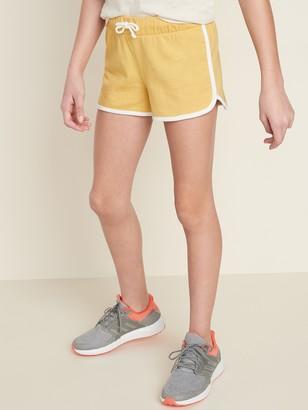 Old Navy Jersey Dolphin-Hem Shorts for Girls