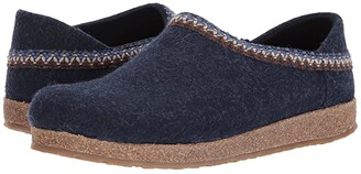 Haflinger GZH Zigzag (Blue) Slippers