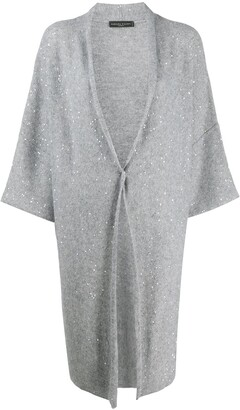 Fabiana Filippi Draped Oversized Cardigan