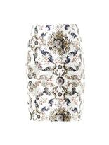 Prabal Gurung Medallion-print silk skirt