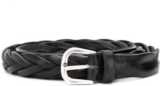LeQarant braided leather belt