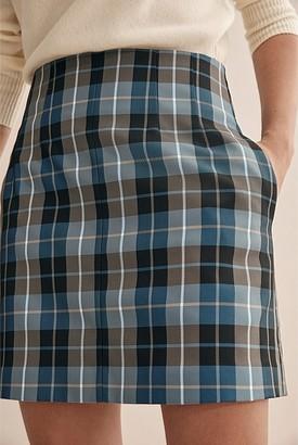 Country Road Check Mini Skirt