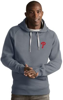 Antigua Men's Philadelphia Phillies Victory Pullover Hoodie