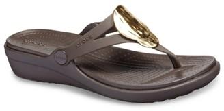 Crocs Sanrah Wedge Sandal - Women's