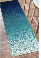 bungalow rose kailey turquoise area rug rug
