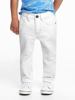 Old Navy Skinny White Jeans for Toddler Boys